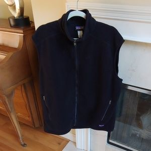 Patagonia Synchilla Black Fleece Vest